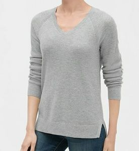 V-Neck Pullover Sweater Women Size XL Gap